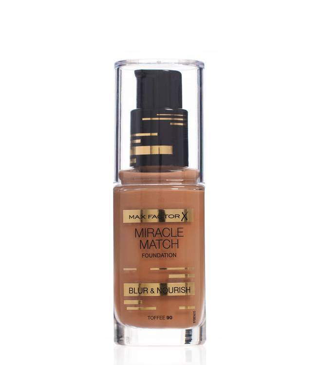 Max Factor Miracle Match Foundation – Toffee 090