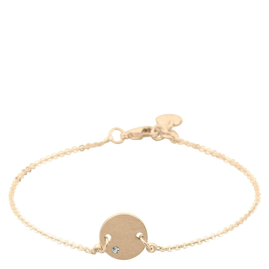 Snö Of Sweden Elin Small Chain Bracelet – Gold/Clear