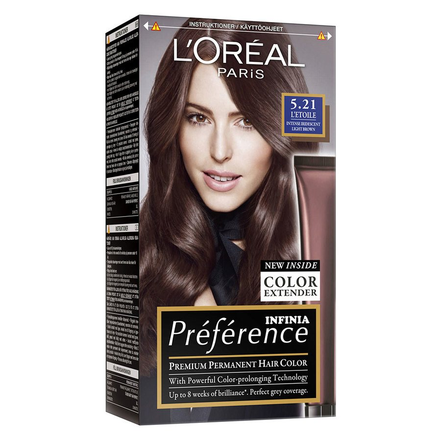 L'Oréal Paris Préférence Core Récital - 5,21 Intense Iridescent Light Brown