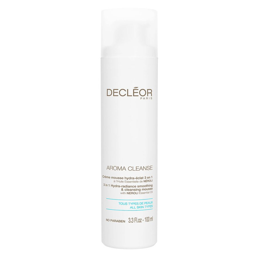 Decléor Aroma Cleanse 3 In 1 Hydra-Radiance Smoothing & Cleansing Mousse 100 ml