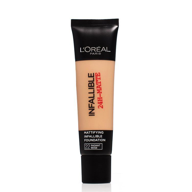 L'Oréal Paris Infallible 24h Matte Foundation 30 ml – 22 Radiant Beige