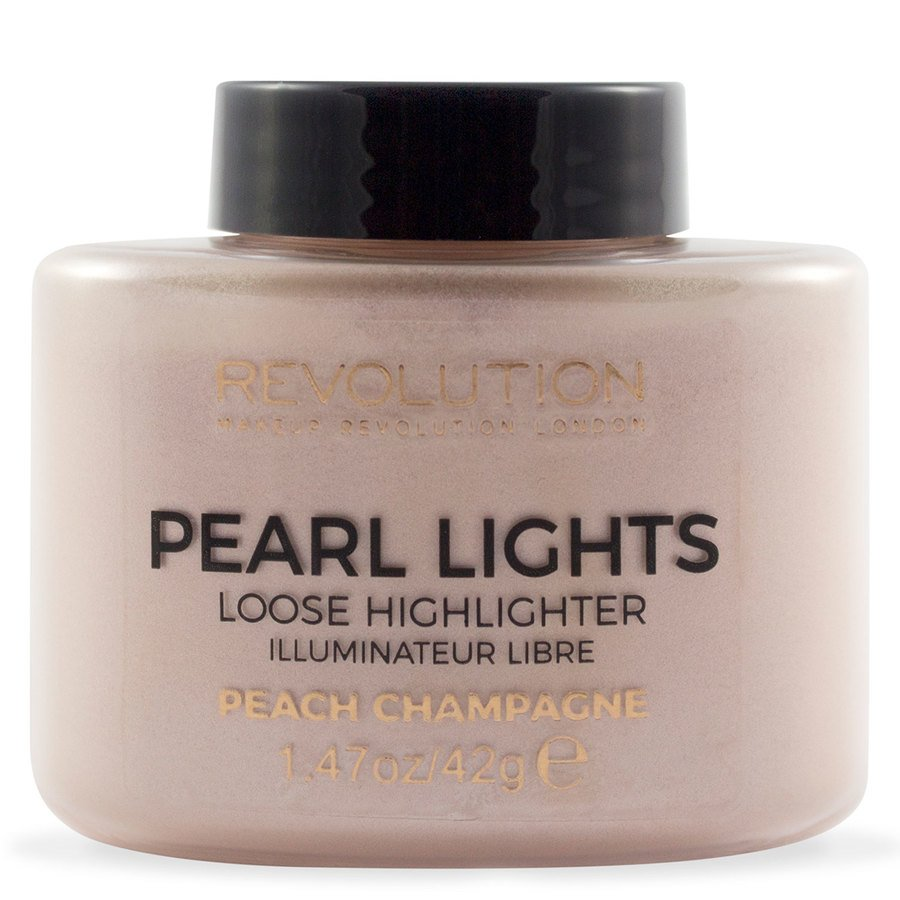 Makeup Revolution Pearl Lights Loose Highlighter 25 g – Peach Champagne