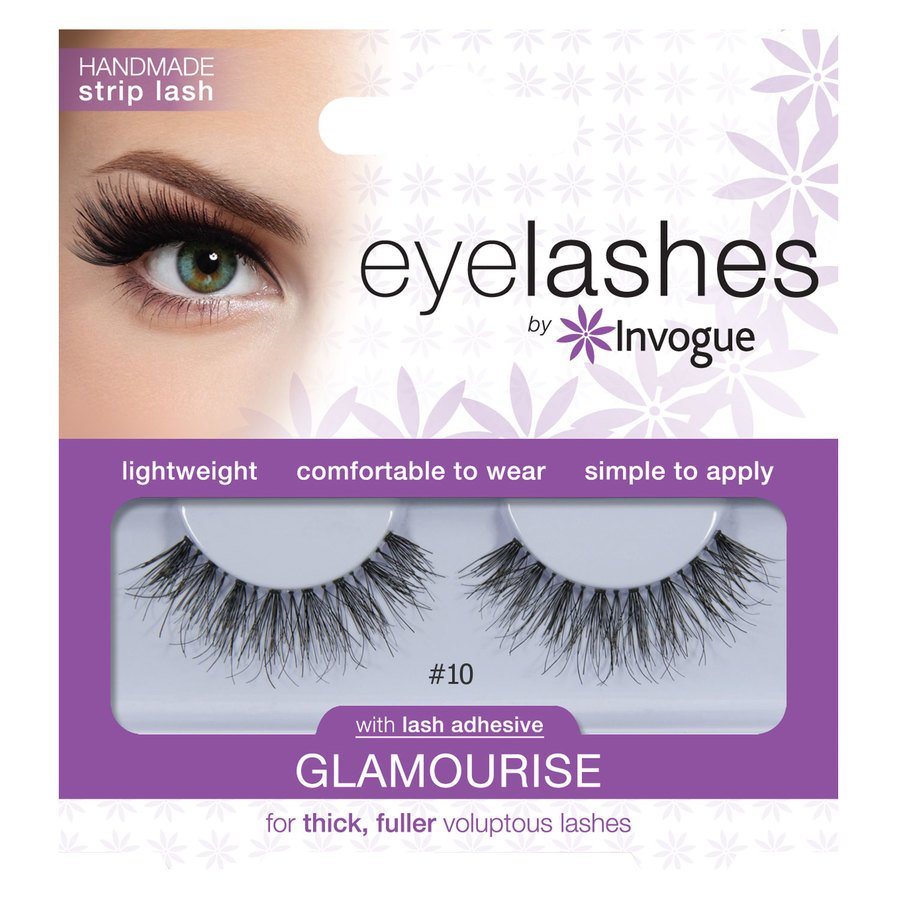 Invogue Eyelashes Glamourise #10
