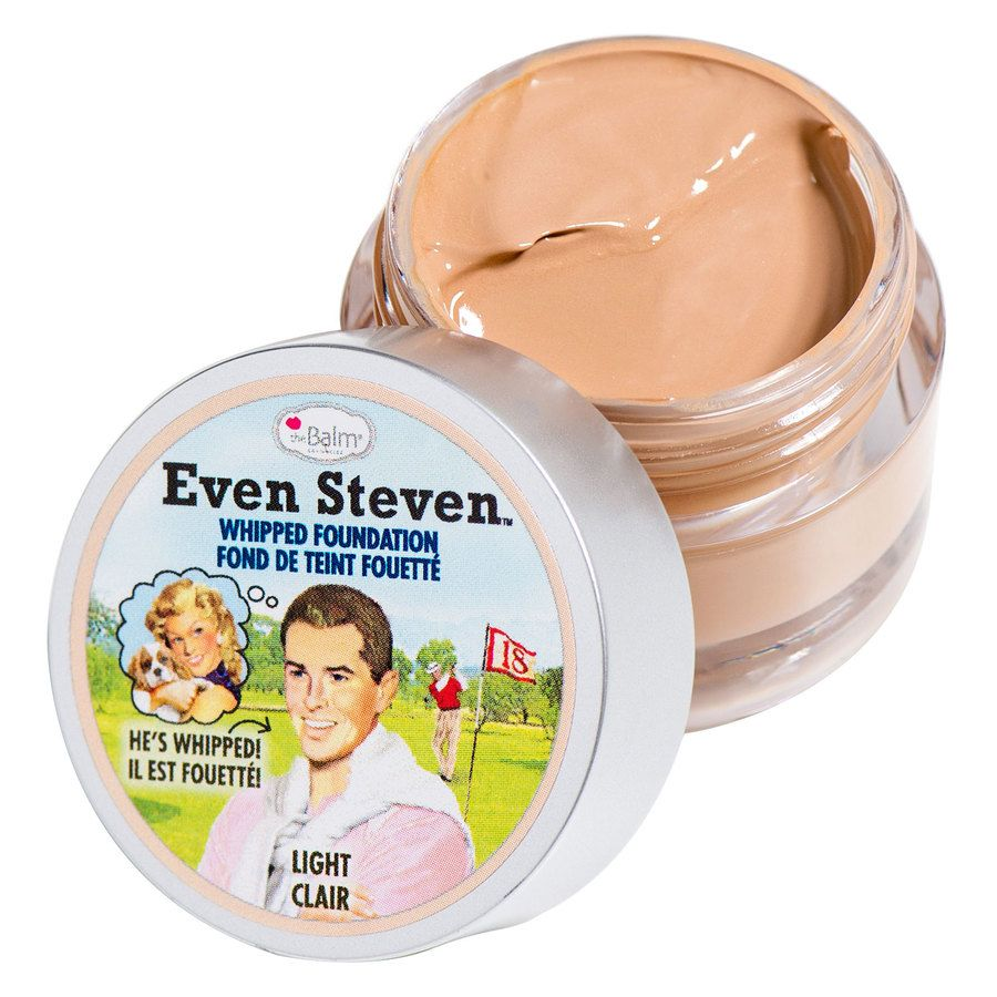 The Balm Even Steven Whipped Foundation 13,4 ml – Light