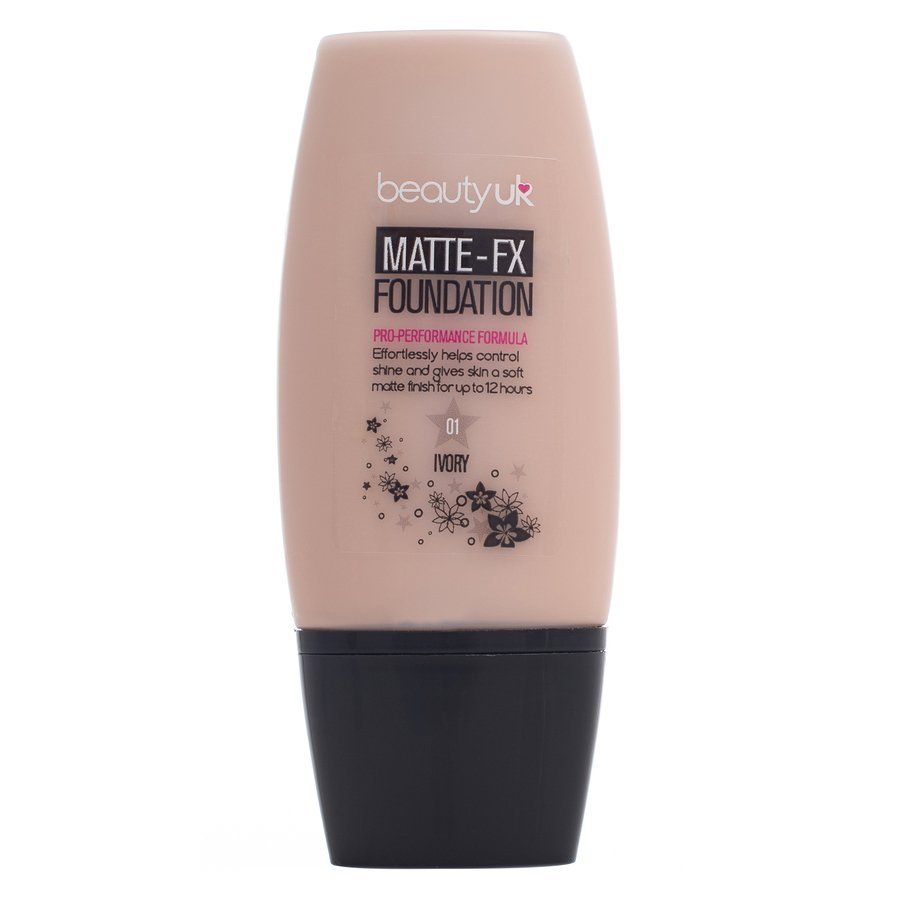 Beauty UK Matte-Fx Foundation Nr. 1 – Ivory