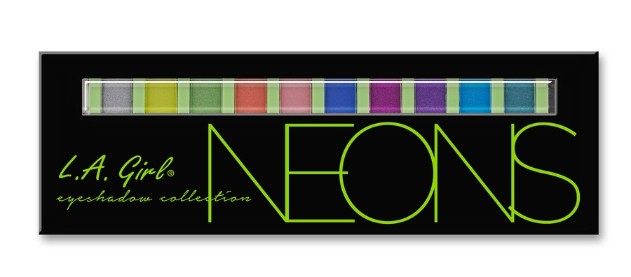 L.A. Girl Cosmetics Beauty Brick Eyeshadow Collection - Neon GES334