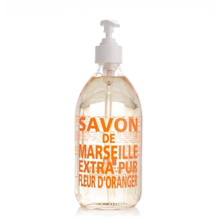 Compagnie De Provence Liquid Soap (Glass Bottle) 500 ml Orange Blossom