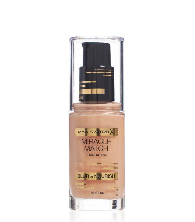 Max Factor Miracle Match Foundation – Beige 055