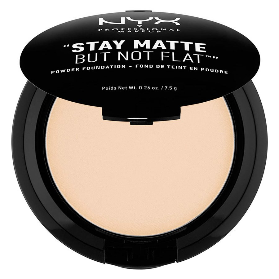 NYX Professional Makeup Stay Matte But Not Flat Powder Foundation Ivory 7,5g