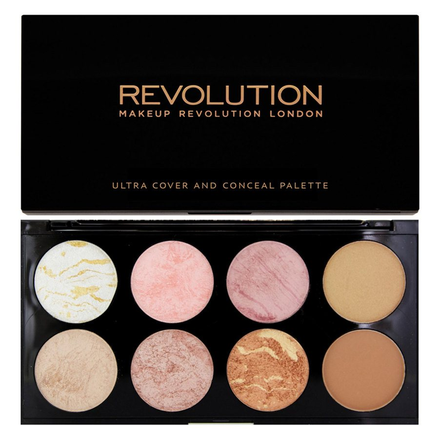 Makeup Revolution Blush Palette – Golden Sugar
