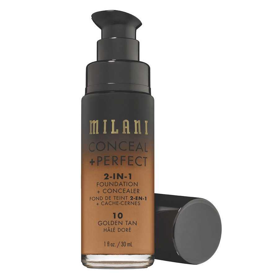 Milani Conceal + Perfect 2-In-1 Foundation + Concealer 30ml – 10 Golden Tan