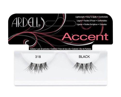 Ardell Accent Fashion Lashes – 318 Black