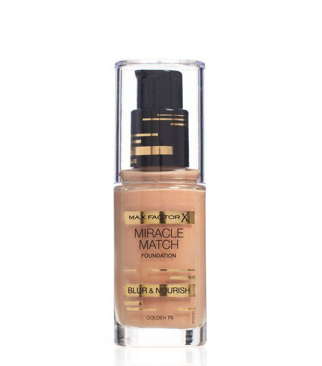 Max Factor Miracle Match Foundation – Golden 075