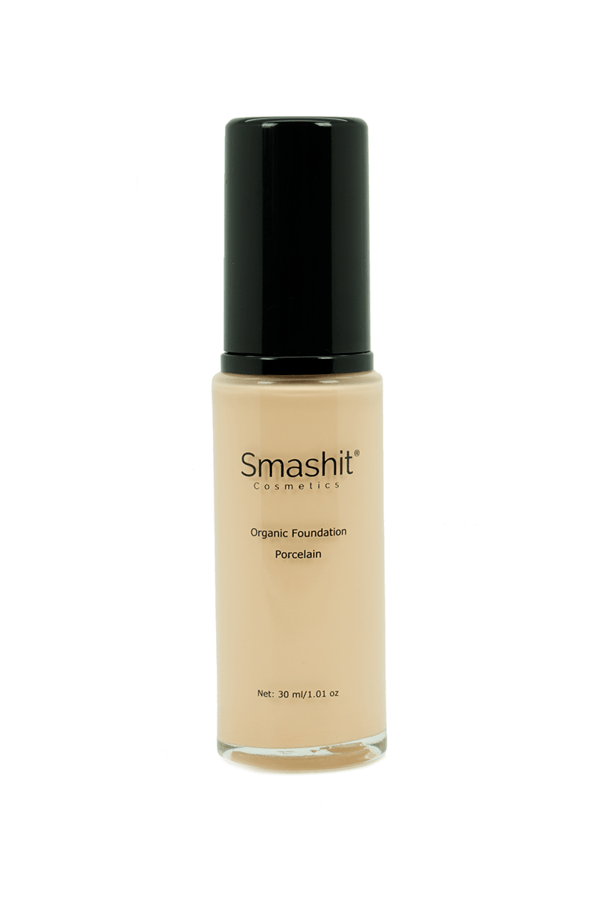 Smashit Cosmetics Organic Foundation Porcelain 30ml
