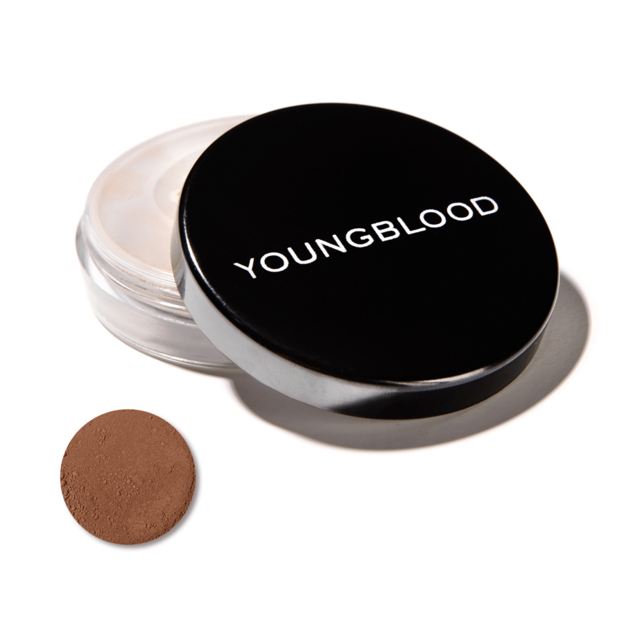 Youngblood Natural Loose Mineral Foundation – Hazelnut 10g