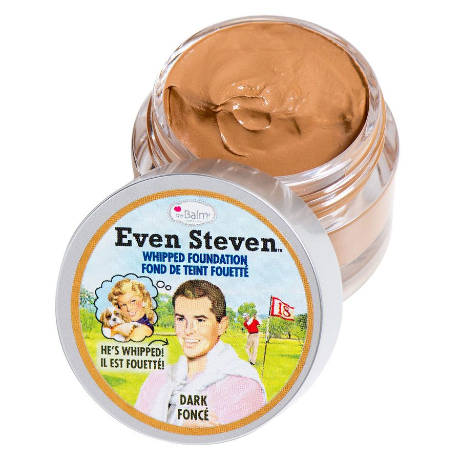 The Balm Even Steven Whipped Foundation 13,4 ml – Dark