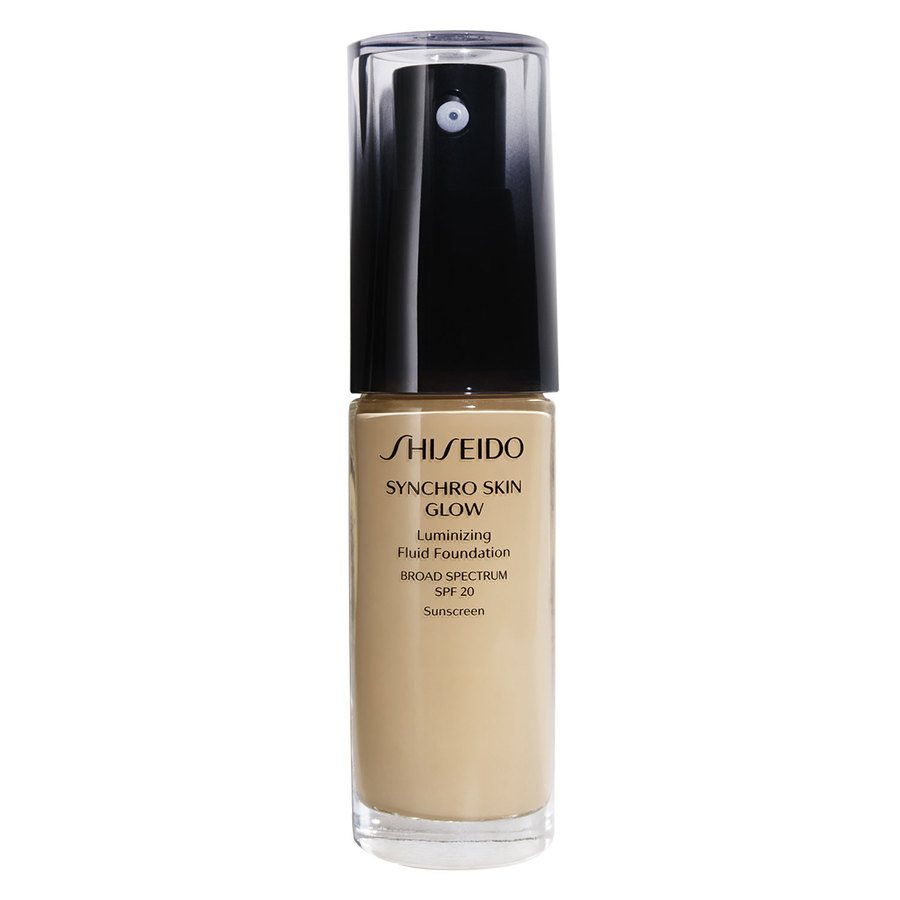 Shiseido Synchro Skin Glow Luminizing Foundation 30 ml - Golden #4