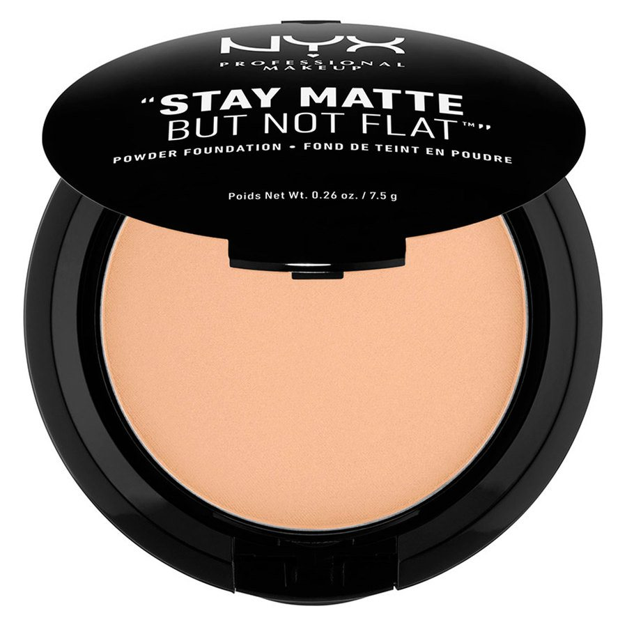 NYX Professional Makeup Stay Matte But Not Flat Powder Foundation Warm Beige 7,5g