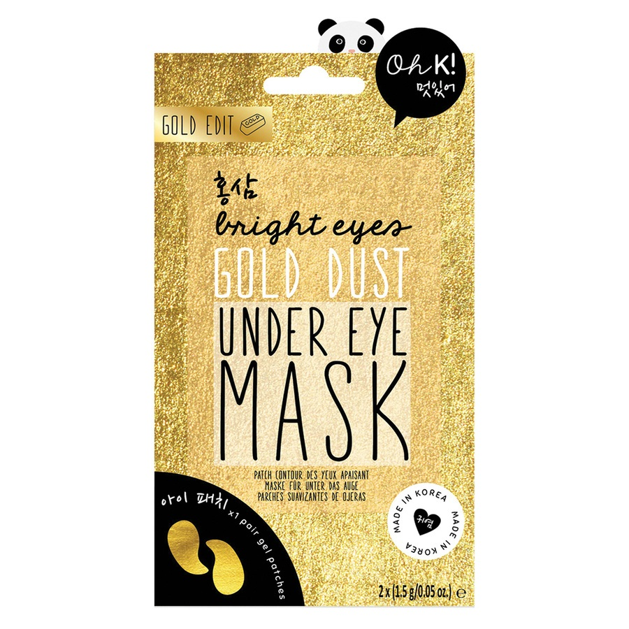 Oh K! Bright Eyes Gold Dust Under Eye Mask 2 x 1,5 g