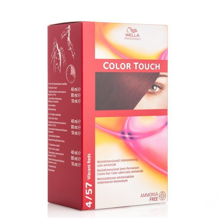 Wella Professionals Color Touch 130 ml – 4/57 Vibrant Reds