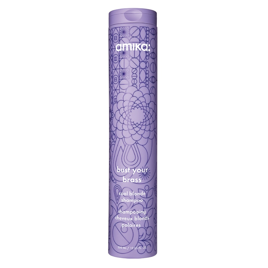Amika Bust Your Brass Cool Blonde Shampoo 300 ml