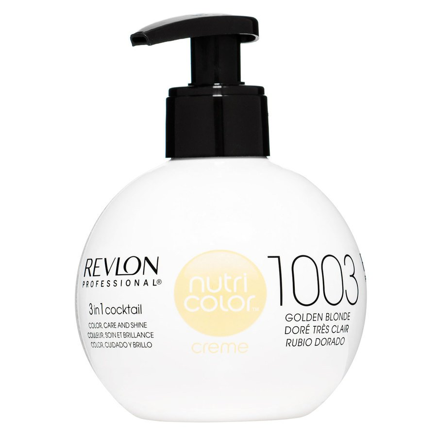 Revlon Professional Nutri Color Creme 270 ml – 1003 Pale Gold