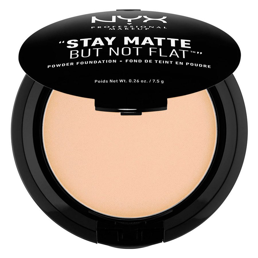 NYX Professional Makeup Stay Matte But Not Flat Powder Foundation Natural 7,5g