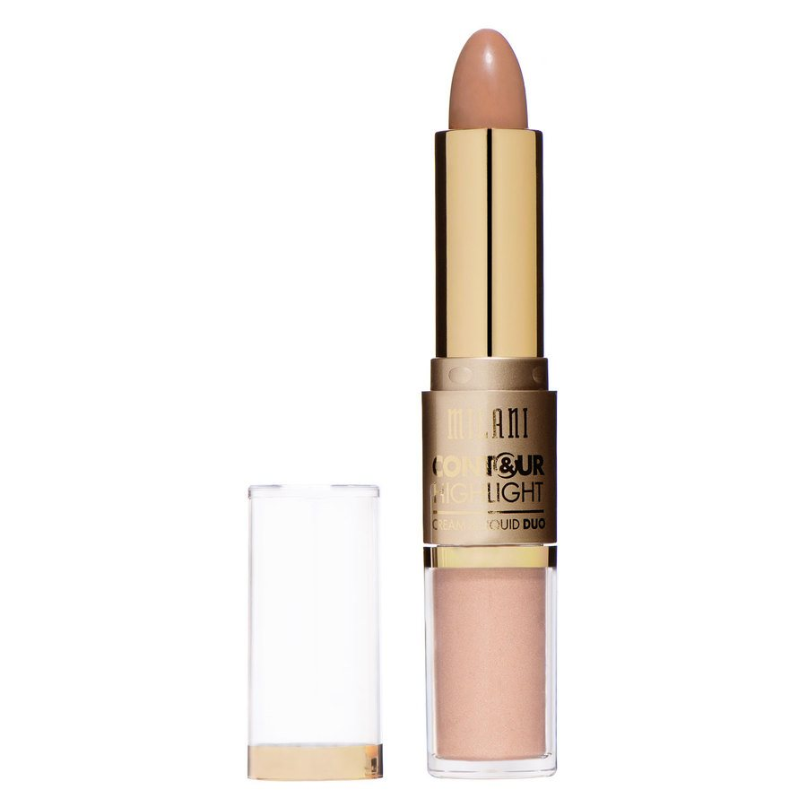 Milani Contour And Highlight Cream And Liquid Duo – Natural/Medium