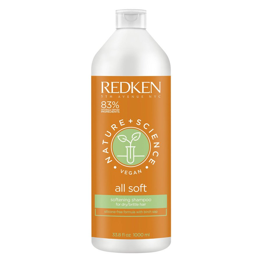 Redken Nature + Science All Soft Shampoo 1 000 ml