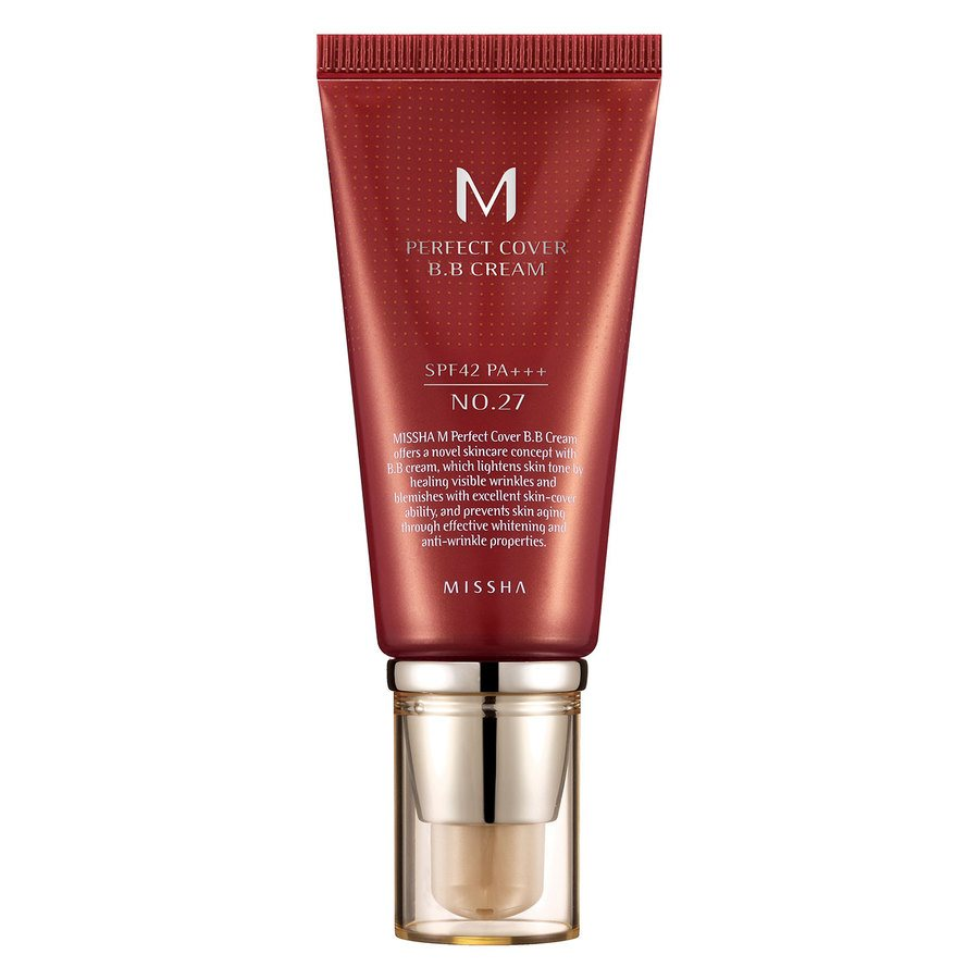 Missha M Perfect Cover BB Cream SPF 42 PA+++ 50 ml – 27 Honey Beige
