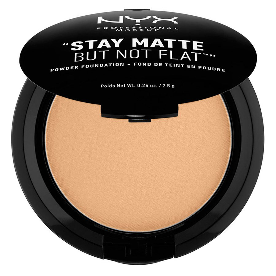 NYX Prof. Makeup Stay Matte But Not Flat Powder Foundation Tan 7,5g