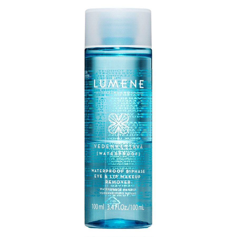 Lumene VEDENKESTÄVÄ Waterproof Eye & Lip Makeup Remover 100 ml