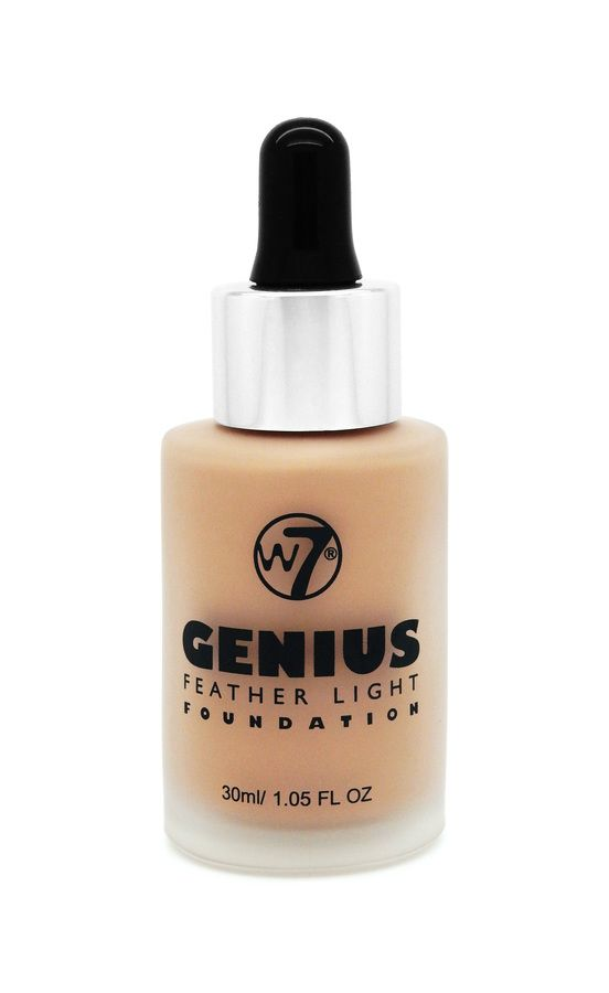 W7 Genius Feather Light Foundation – Natural Beige