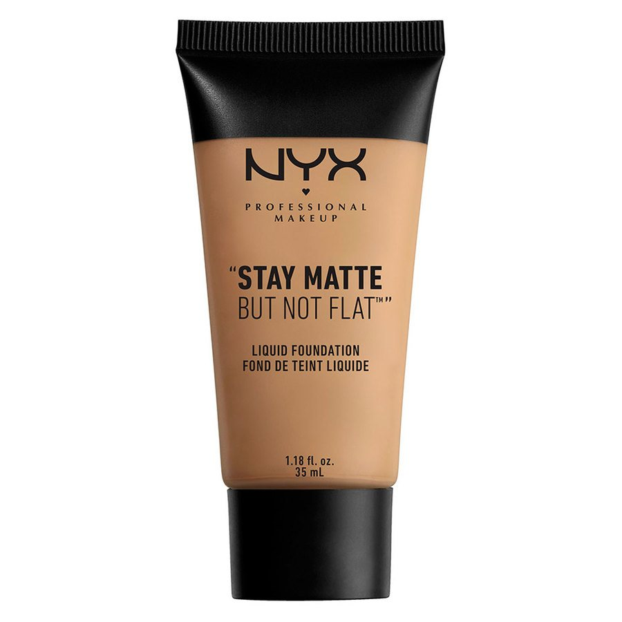 NYX Professional Makeup Stay Matte But Not Flat Liquid Foundation 35ml - Caramel SMF10