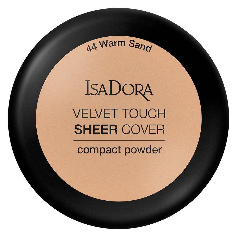 IsaDora Velvet Touch Sheer Cover Compact Powder 7,5 g ─ 44 Warm Sand