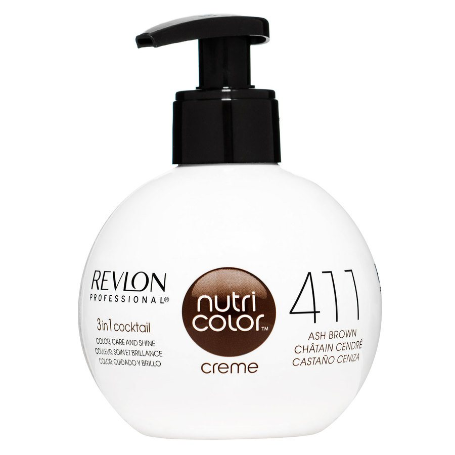 Revlon Professional Nutri Color Creme 270 ml – 411 Brown