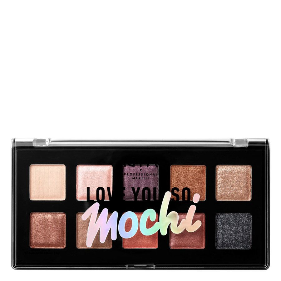 NYX Professional Makeup Love You So Mochi Eyeshadow Palette – Shade 02