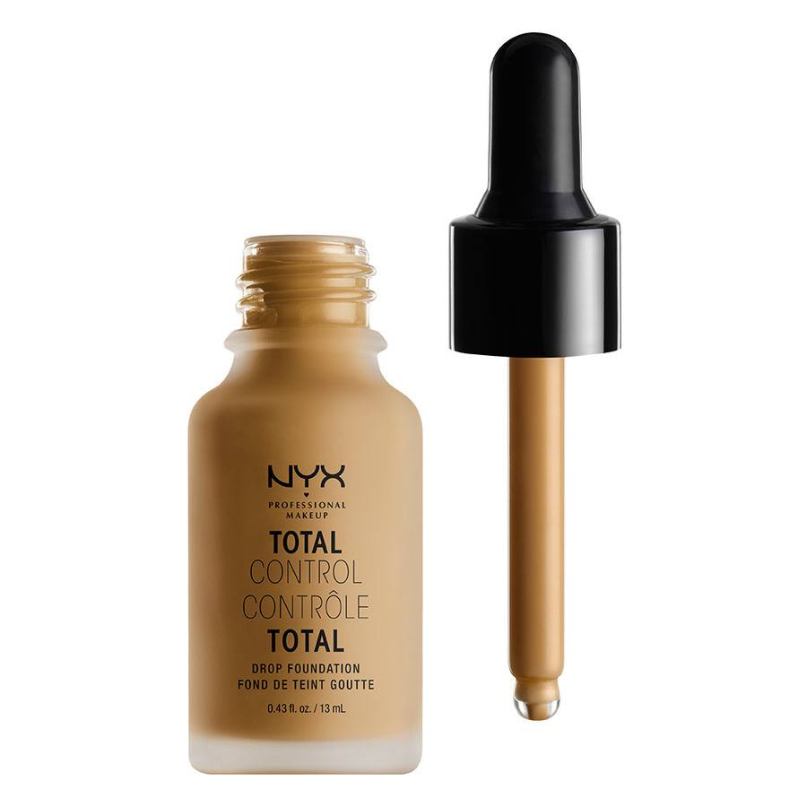 NYX Professional Makeup Total Control Drop Foundation Caramel DF15 13ml