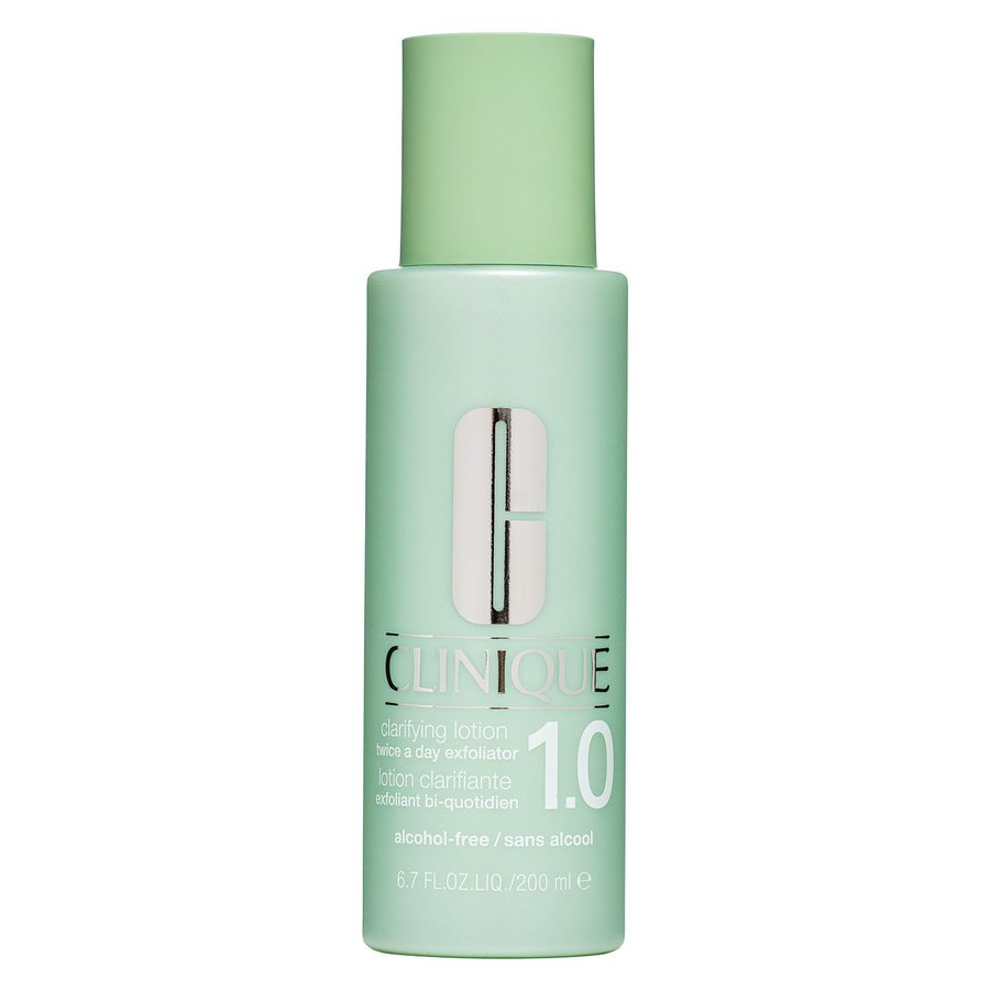 Clinique Clarifying Lotion 1.0 Twice A Day Exfoliator Alcohol-Free 200ml