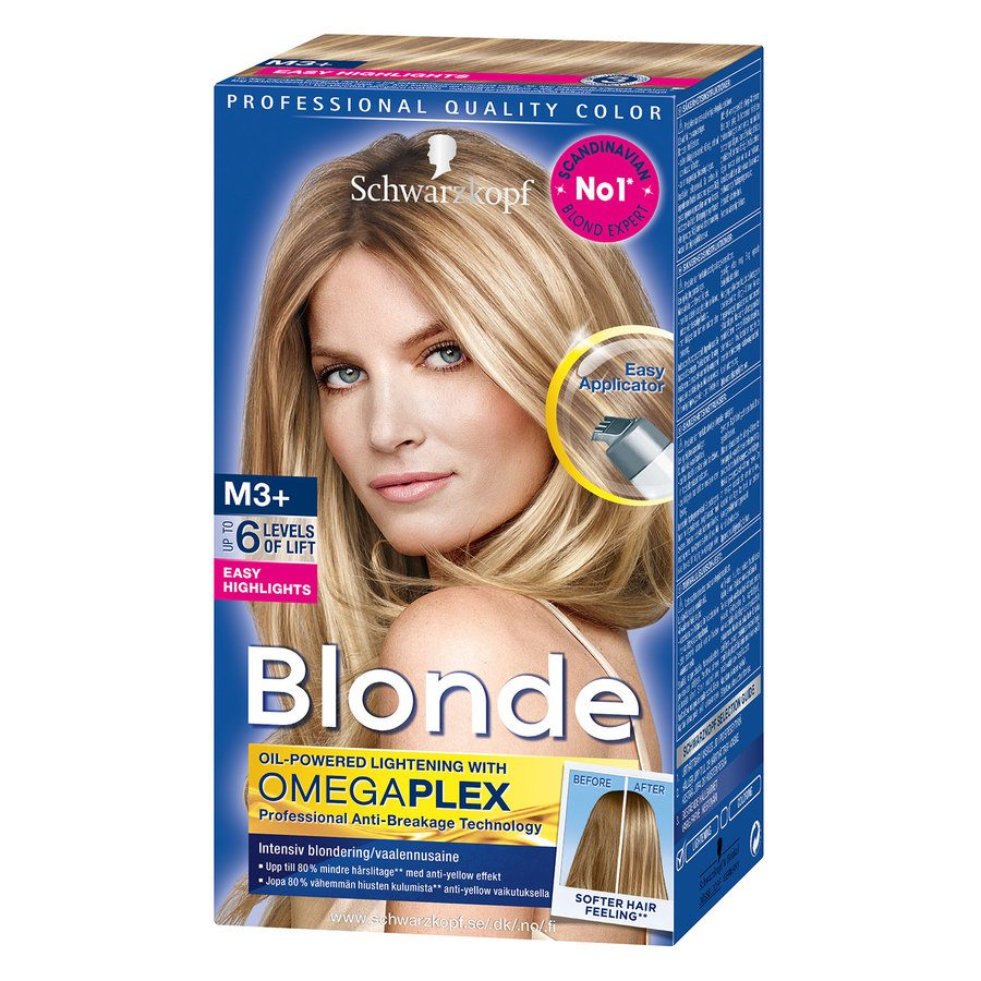 Schwarzkopf Blonde M3+ Strong Easy Highlights