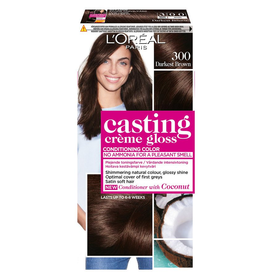 L'Oréal Paris Casting Crème Gloss 300 Darkest Brown