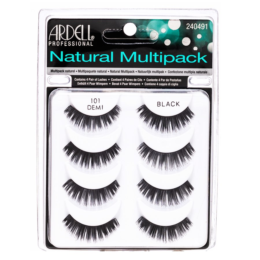 Ardell Natural Multipack with 4 Pairs – Black 101