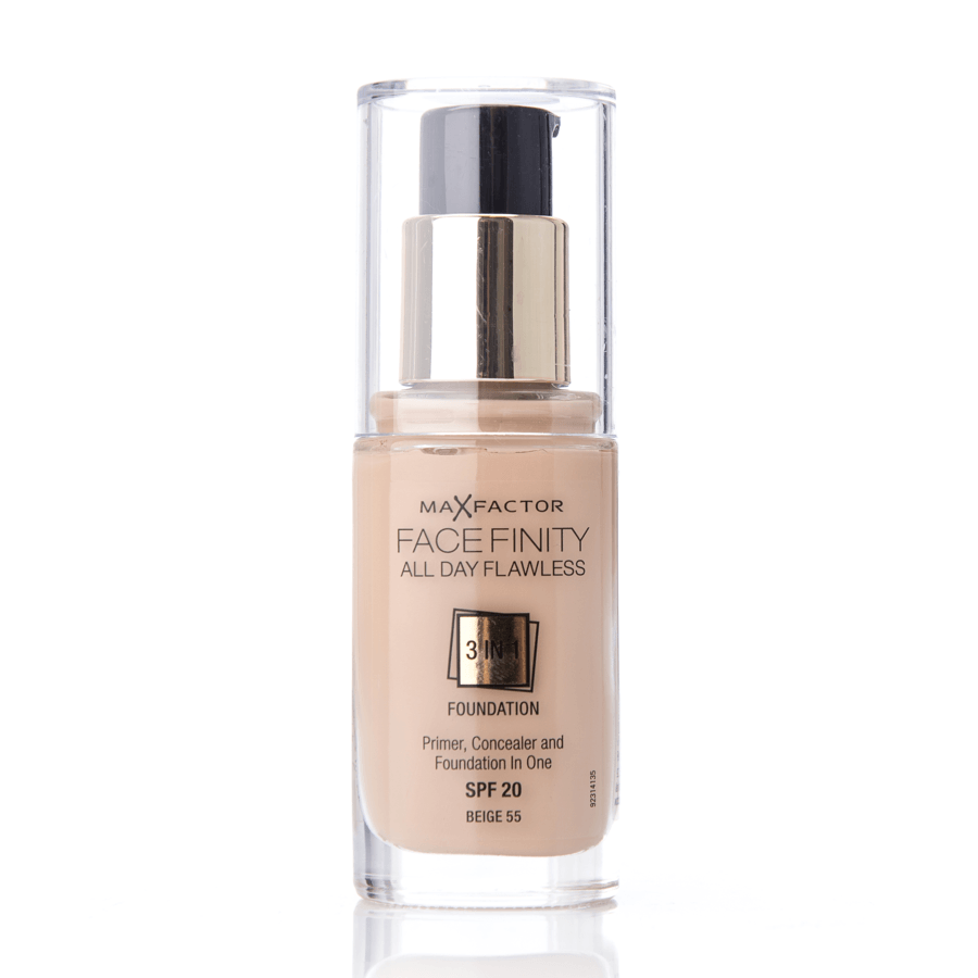 Max Factor Face Finity 3 In 1 Foundation 55 Beige 30ml