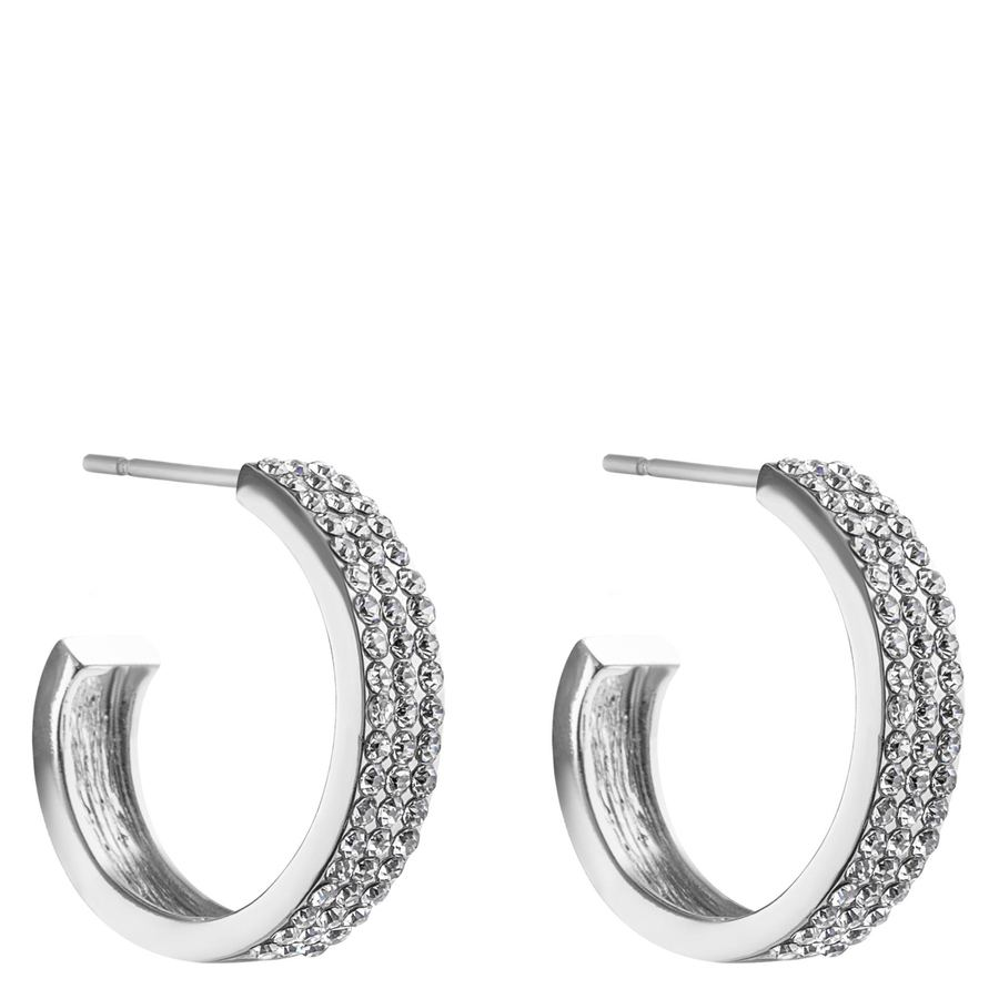 Snö Of Sweden Carrie Earring – Silver/Clear