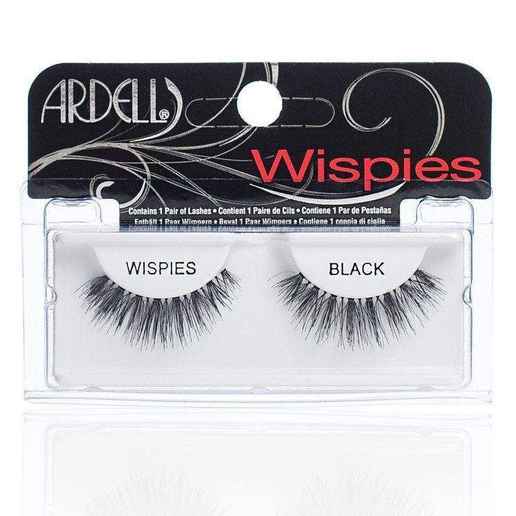 Ardell Glamour Fashion Lashes – Wispies Black