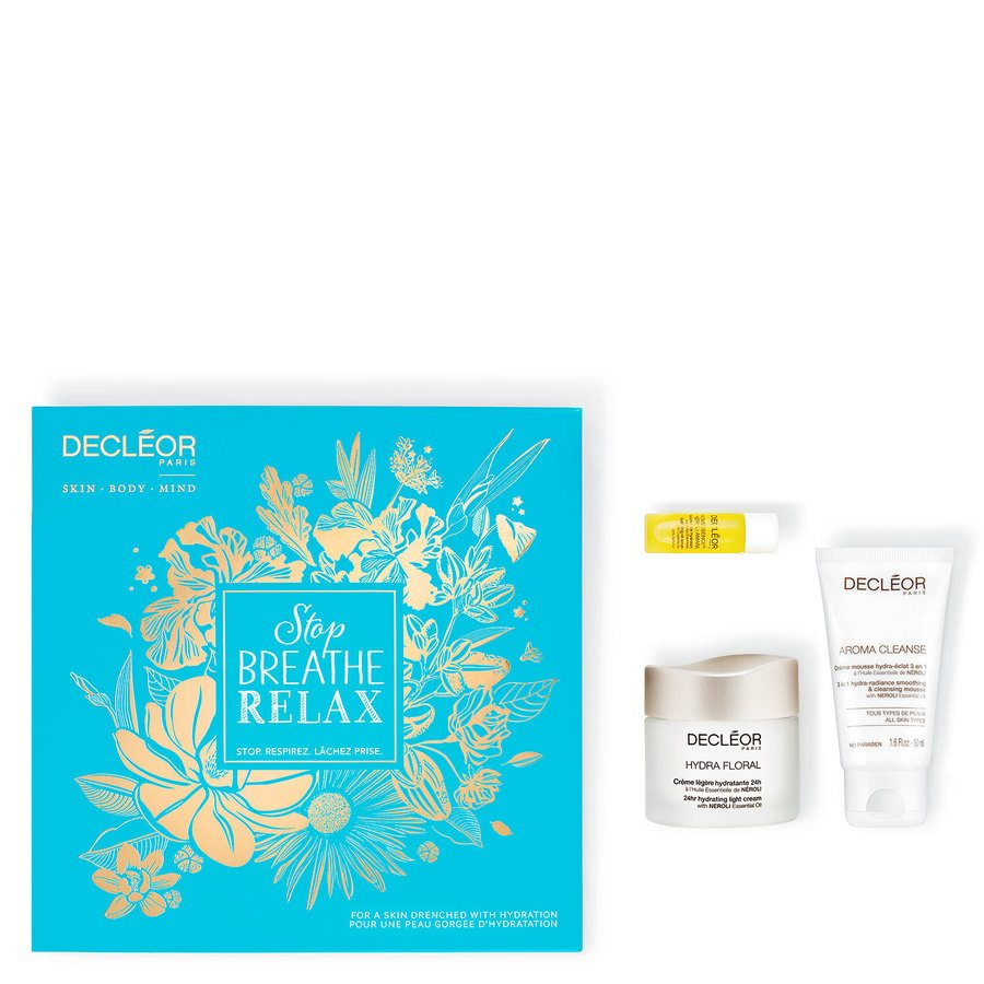 Decléor Stop Breathe Relax Hydration Kit Hydra Floral Lahjapakkaus