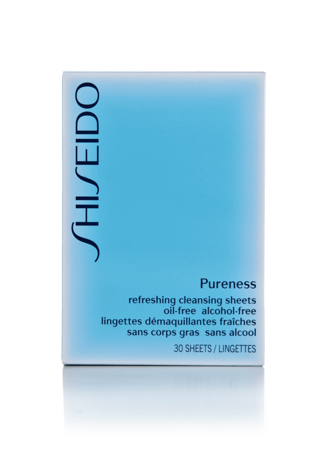 Shiseido Pureness Refreshing Cleansing Sheets 30 kpl