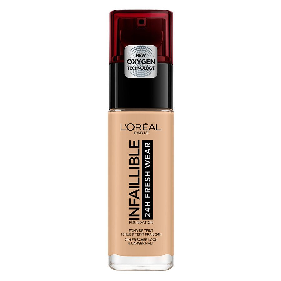 L'Oréal Paris Infallible 24H Liquid Foundation – 200 Golden Sand 30ml