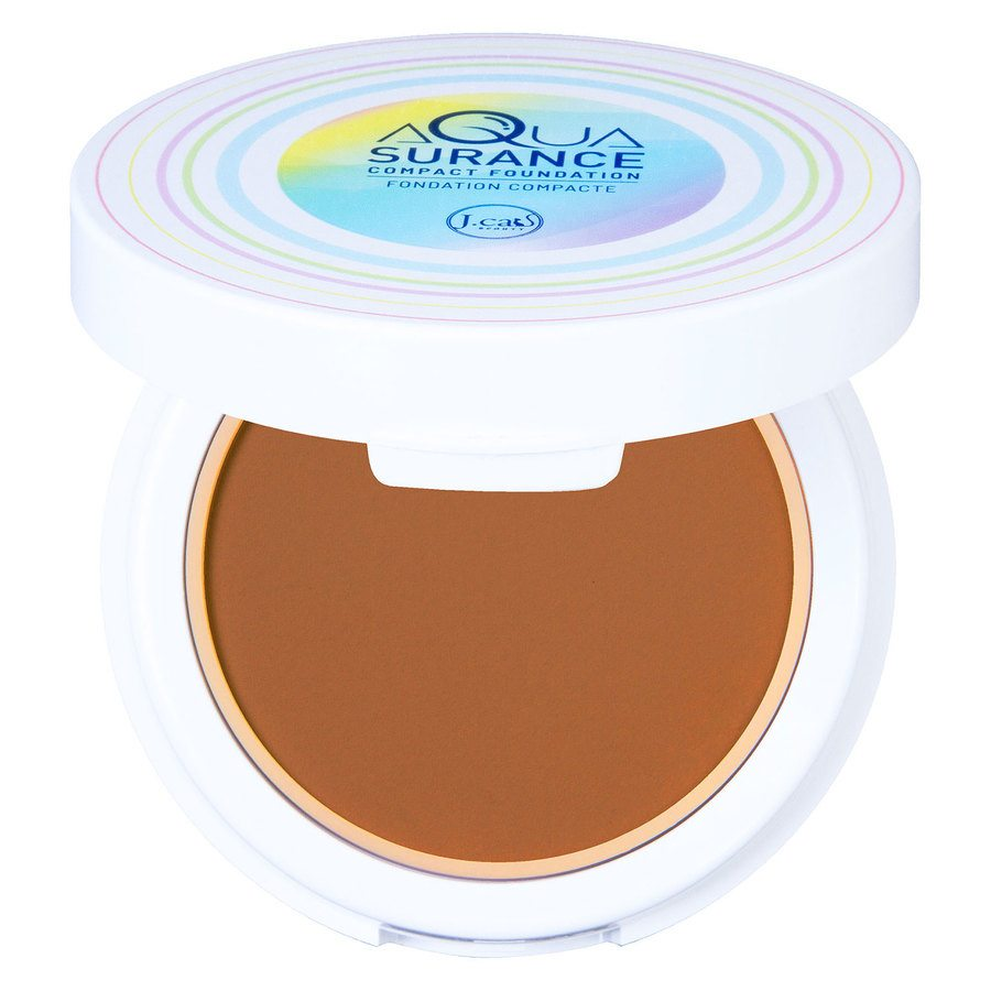 J.Cat Aquasurance Compact Foundation 9 g - Caramel