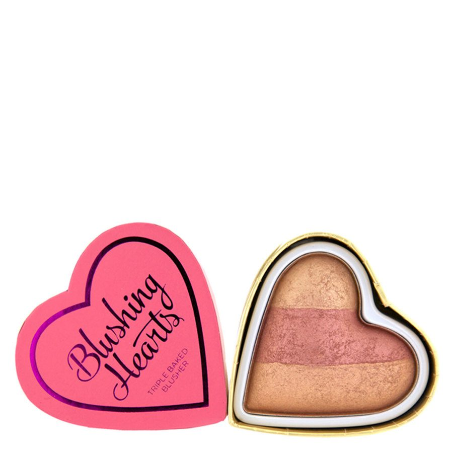I Heart Revolution Blushing Hearts Blusher – Peachy Keen Heart